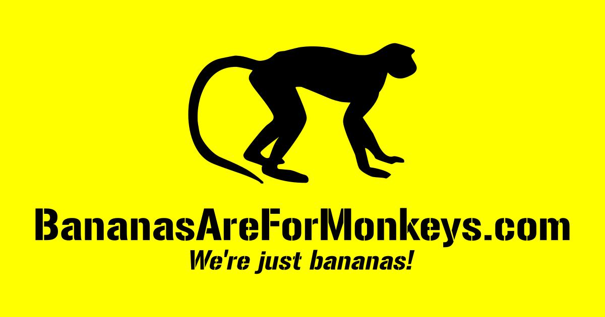 Logo Bananas Are For Monkeys